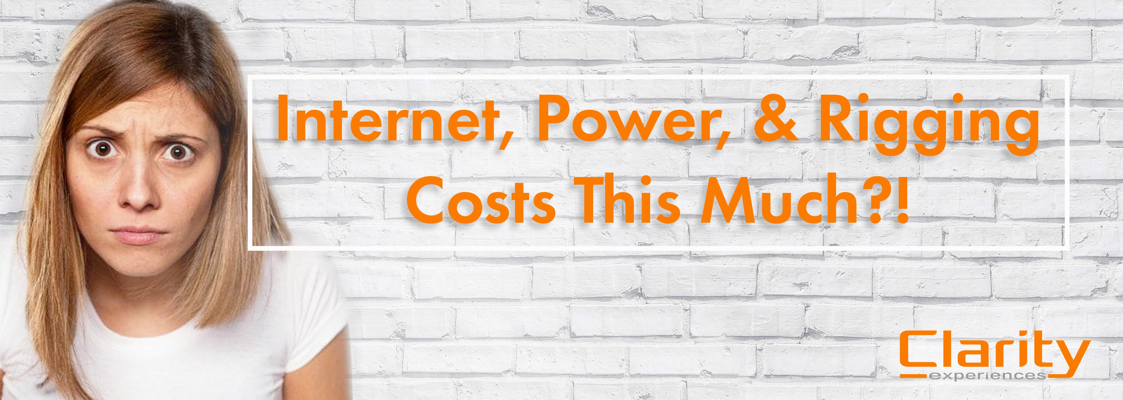 Internet Power and Rigging Can't Cost This Much | Clarity Experiences