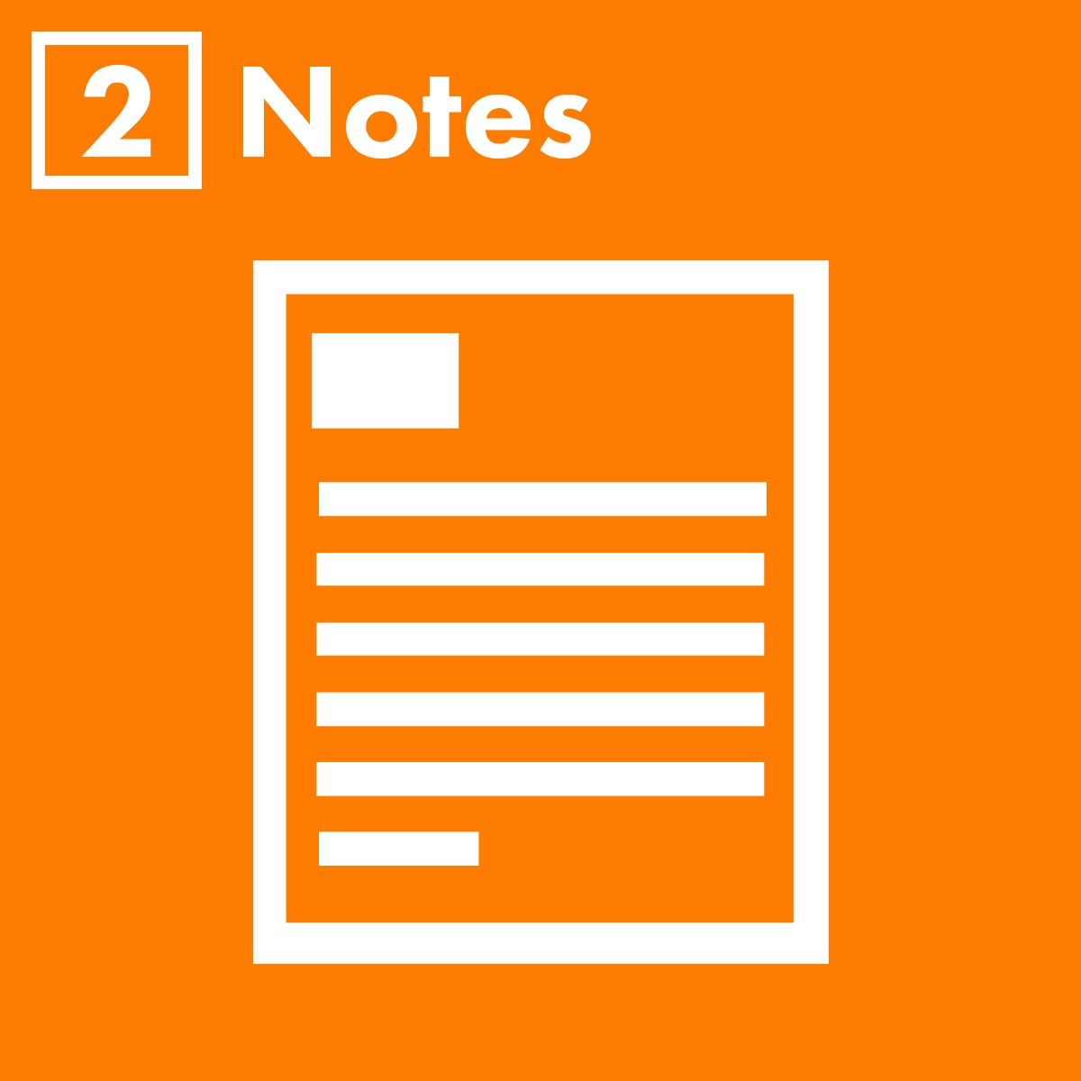 Notes   Clarity Experiences
