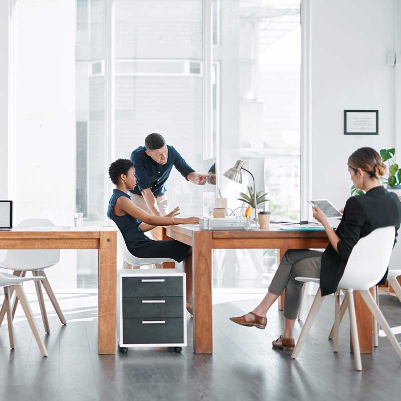 Designing for Information Driven Digital Workplaces